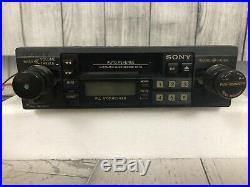 Vintage / Rare Sony XR-33 AM Stereo / FM Stereo Cassette Player Car Radio