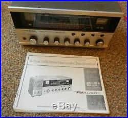 Vintage Realistic DX-160 5 Band Short Wave Radio USED For Parts Or Repair