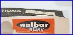 Vintage Red-tip Car Radio Antenna Walbar A. W. Barrs Aerial Fb Fc Hr Hx Hg Holden