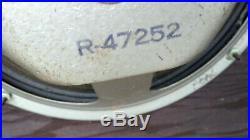 Vintage SEARS ROEBUCK SILVERTONE RADIO TUBE Model 7051 For Parts Or Repair
