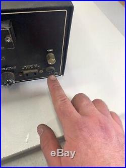 Vintage Sansui TU-9500 AM FM Stereo Tuner Radio FOR PARTS OR REPAIR