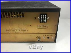 Vintage Siltronix 1011C SSB AM 10 meter Ham Radio tube transceiver 266 For Parts