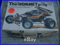 Vintage Tamiya The Hornet Radio Controlled RC Car in Box As Is for Parts/Repair