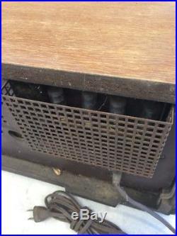 Vintage Telefunken Opus 5550 MX Tube Radio Stereo Hi Fi Receiver