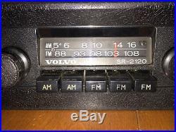 Vintage Volvo 240 AM FM RADIO STEREO SR-2120 TESTED NICE