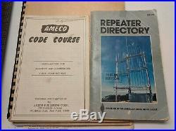 Vintage WRL Galaxy 300 Transceiver PSA 300 Speaker Clock For Parts Ham Radio