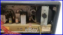 Vintage Zenith A600 Trans Oceanic Shortwave Radio Parts or Repair