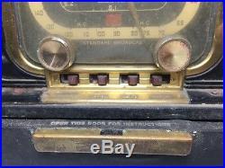 Vintage Zenith Trans Oceanic Wave Magnet Shortwave Radio Parts Or Repair