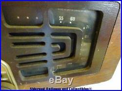 Vintage Zenith Tube AM Radio Turntable Model 5R086 Parts Repair