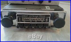 Vintage chrome BECKER GRAND PRIX radio Amplifier Mercedes Porsche Ferrari europa