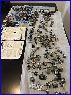 Vintage ham radio parts potentiometers huge lot radio/guitar And Other Parts