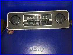Volkswagen Sapphire 1968-1979 Am/Fm Radio Made By Motorola Vintage