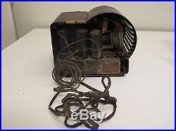 Vtg Majestic CHARLIE MCCARTHY Tube Radio Brown Bakelite Parts/Repair ORIGINAL