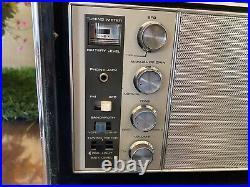 Vtg ROYAL D 7000Y ZENITH TRANS OCEANIC RADIO RECEIVER FOR PARTS REPAIR OR RESTO