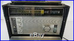 ZENITH Royal-7000 Trans-Oceanic SHORTWAVE RADIO World
