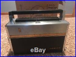 Zenith Trans-Oceanic Transistor Multi Band Radio Royal 1000-D // Parts Or Repair