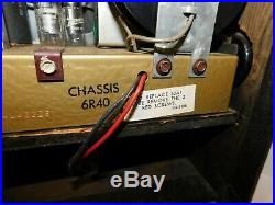 Zenith Trans-Oceanic Wave Magnet Tube SW Radio Vintage for Parts Not Working